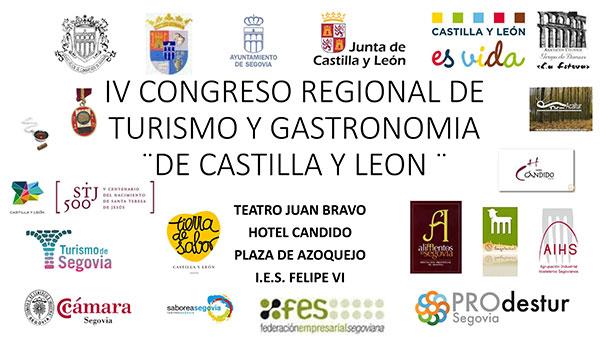 IV Congreso regional de Turismo y Gastronomía de Castilla y León.