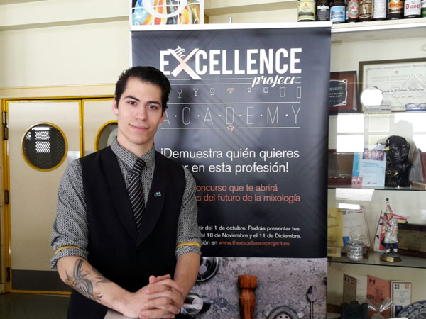 Jonathan Pallaruelo, a la final del Excellence Project en Madrid