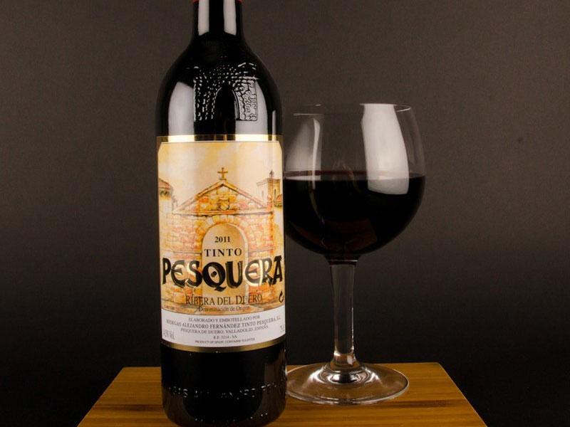 CATA/DEGUSTACION de los vinos de Don Alejandro Fernandez: GRUPO PESQUERA