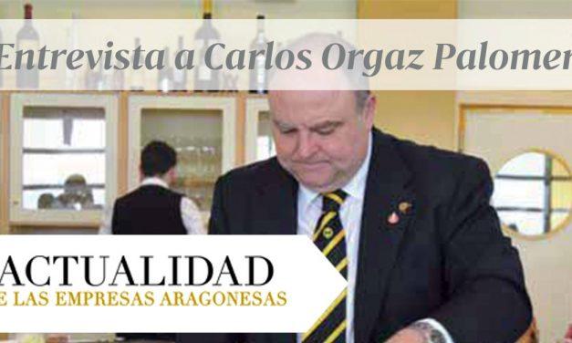Carlos Orgaz en la Revista Actualidad de las Empresas Aragonesas