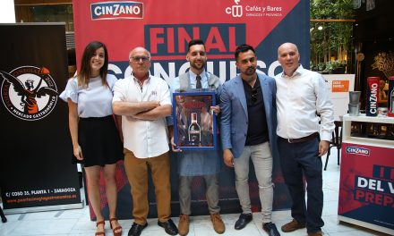 Denis López se hace con la 'Ruta del Vermut preparado Cinzano' de Zaragoza