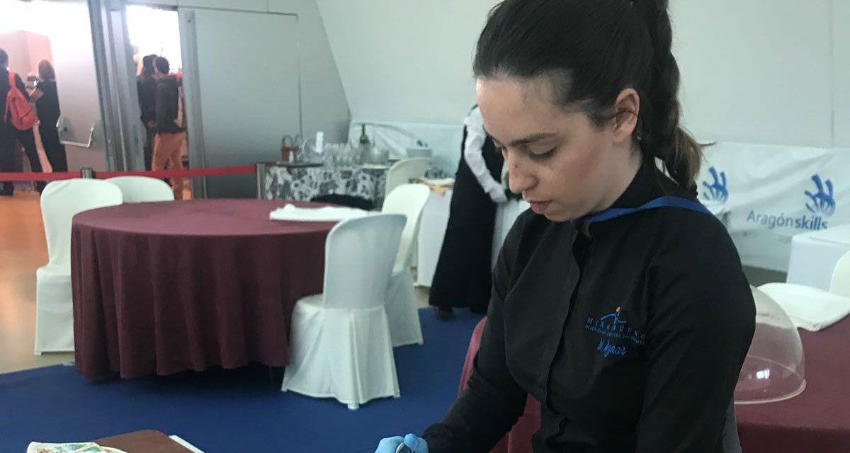 Marta Aznar, al Spain Skills 2019