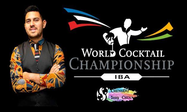 Roger Guevara, al Mundial de Cocktelería IBA