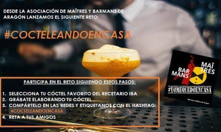 Nace el reto #CocteleandoEnCasa en redes sociales. ¡Anímate a participar!