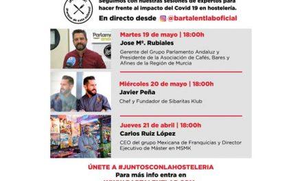 Ponencias del #BarTalentLab para la semana del 19 al 21 de mayo