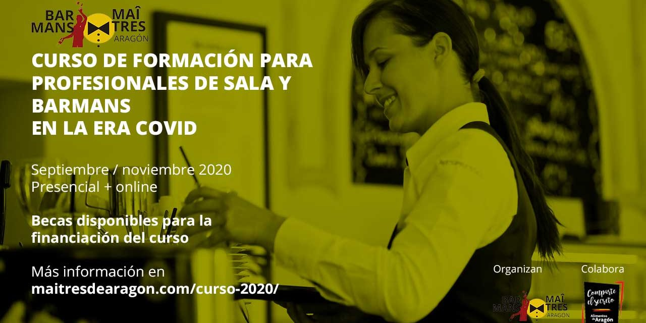 CURSO DE FORMACIÓN PARA PROFESIONALES DE SALA Y BARMAN EN LA ERA COVID