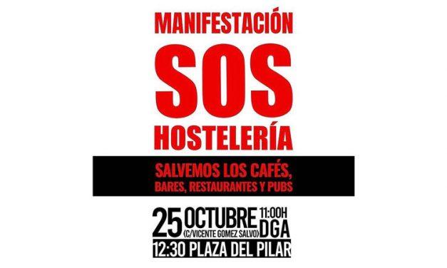 Manifestación del 25/10 en defensa de la hostelería. CONVOCATORIA Y CUESTIONES GENERALES