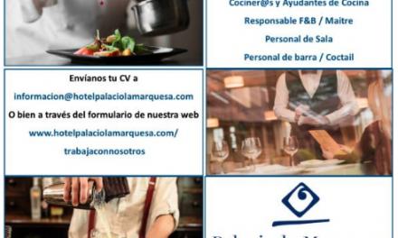 En Teruel, oferta de empleo 05 abril 2021