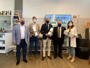 Foto de los participantes en la visita