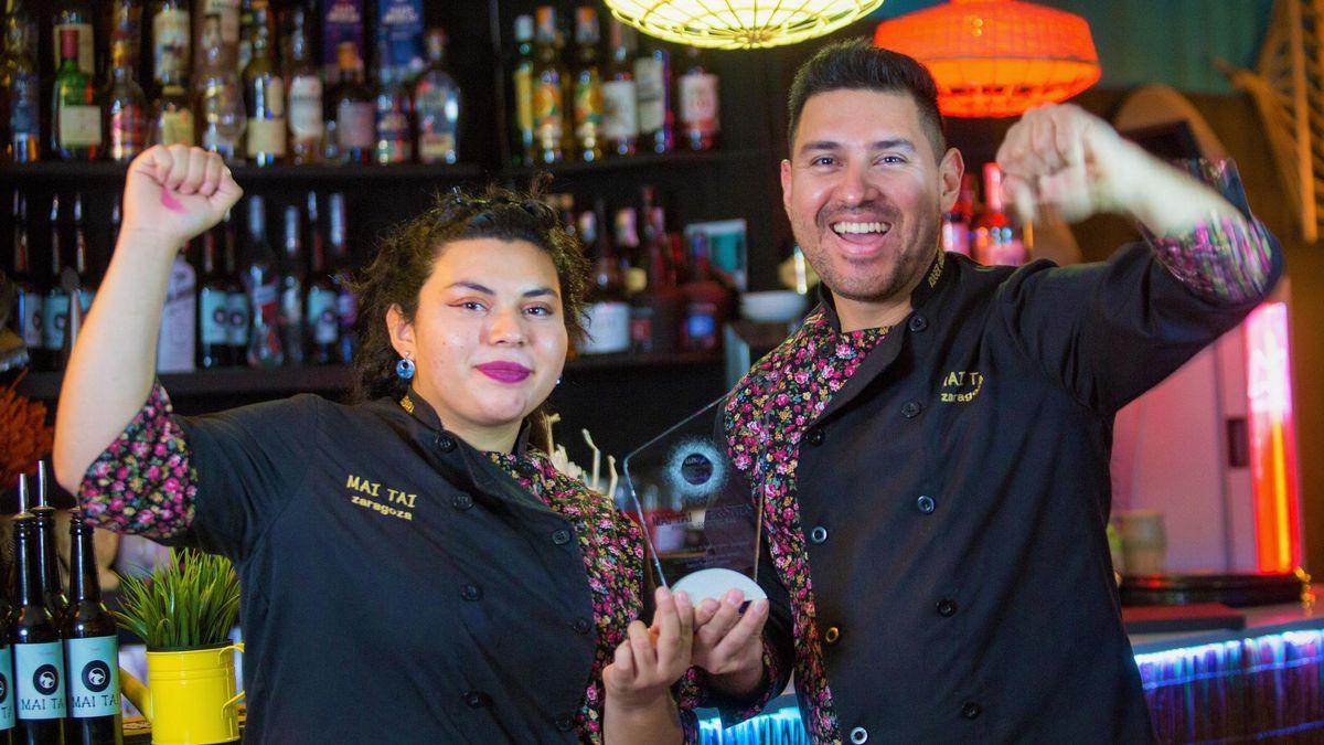Roger Guevara premio al Mai Tai como mejor coctel bar and restaurant