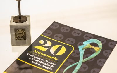 Cena del XX Aniversario de las Asociaciones de Maîtres y barmans de aragón