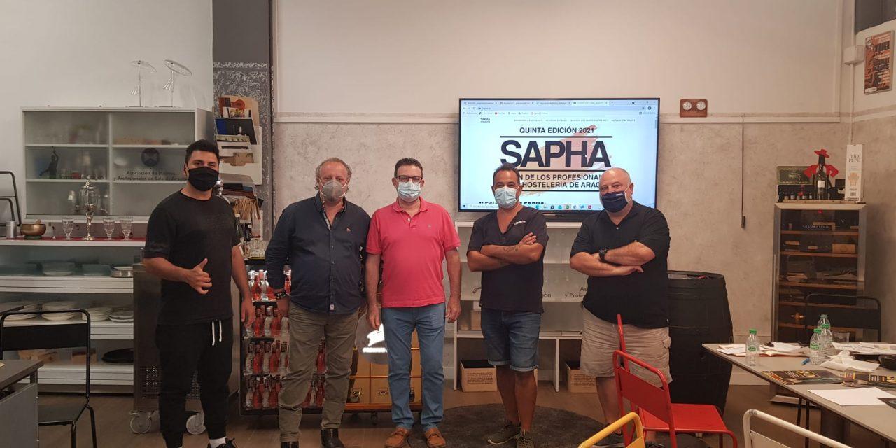 Reunión de la junta para la organización de Sapha 2021