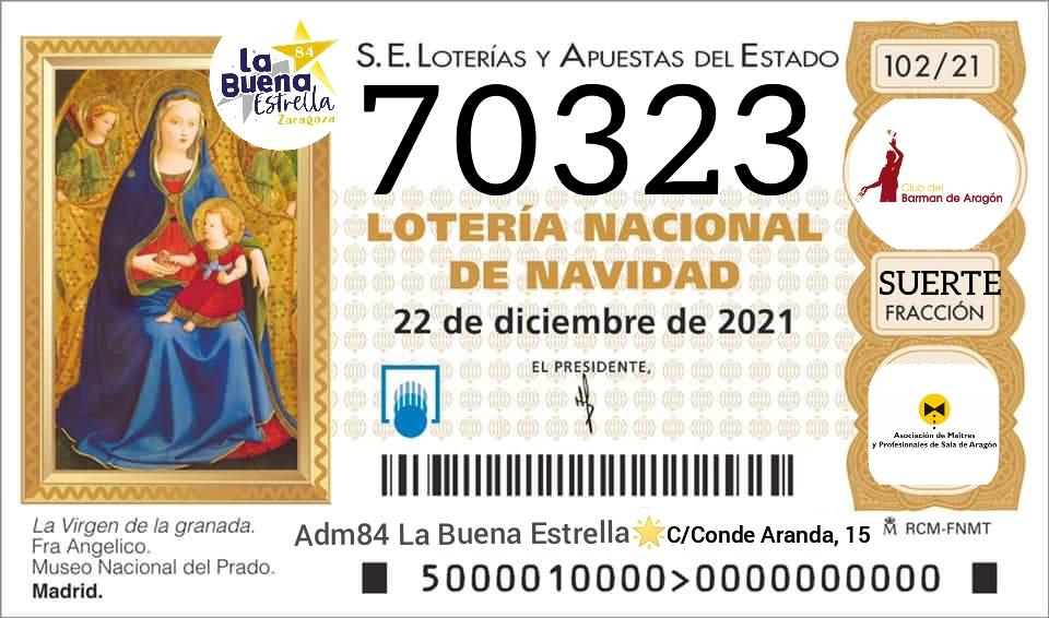 Ya tenemos Número de la Lotería de Navidad de este año.